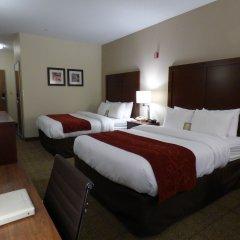 Отель Comfort Suites Columbus West - Hilliard США, Колумбус - отзывы, цены и фото номеров - забронировать отель Comfort Suites Columbus West - Hilliard онлайн комната для гостей фото 4