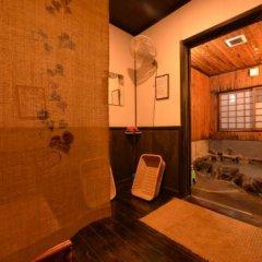 Отель Yamanoyado Reisen Kannojigoku Ryokan Минамиогуни сауна