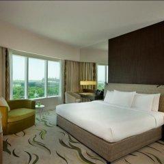 Отель Hilton Capital Grand Abu Dhabi 5* Стандартный номер с различными типами кроватей фото 4