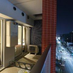 Residence Hotel Hakata 14 Фукуока балкон