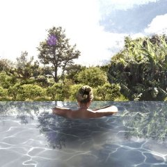 Отель Estalagem Senhora Da Rosa Понта-Делгада бассейн