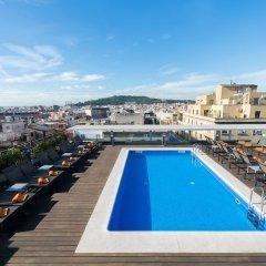 Отель Jazz Испания, Барселона - 1 отзыв об отеле, цены и фото номеров - забронировать отель Jazz онлайн бассейн фото 2