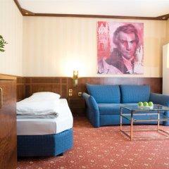 Отель Living Hotel Kanzler Германия, Бонн - отзывы, цены и фото номеров - забронировать отель Living Hotel Kanzler онлайн комната для гостей фото 4