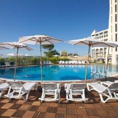 Отель Blue Pearl Hotel- Ultra All Inclusive Болгария, Солнечный берег - отзывы, цены и фото номеров - забронировать отель Blue Pearl Hotel- Ultra All Inclusive онлайн бассейн фото 3