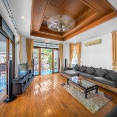 Отель Villas In Pattaya Green Residence Jomtien Beach Паттайя комната для гостей фото 5