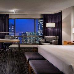 Отель Hyatt Regency Vancouver Канада, Ванкувер - 2 отзыва об отеле, цены и фото номеров - забронировать отель Hyatt Regency Vancouver онлайн комната для гостей фото 3