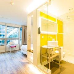 Отель Qbic Hotel Wtc Amsterdam Нидерланды, Амстердам - 6 отзывов об отеле, цены и фото номеров - забронировать отель Qbic Hotel Wtc Amsterdam онлайн комната для гостей фото 4