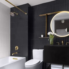 Отель The Wink Hotel США, Вашингтон - отзывы, цены и фото номеров - забронировать отель The Wink Hotel онлайн ванная