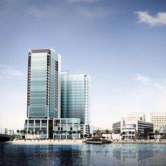 Отель Beach Rotana ОАЭ, Абу-Даби - 1 отзыв об отеле, цены и фото номеров - забронировать отель Beach Rotana онлайн приотельная территория фото 2