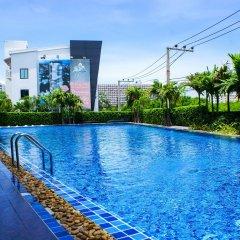 Отель Dusit Grand Condo View Jomtien Паттайя бассейн