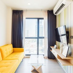 Отель Rhythm Asoke 2 By Favstay Бангкок комната для гостей фото 2