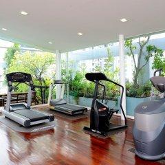 Апартаменты Sabai Sathorn Serviced Apartment Бангкок фитнесс-зал