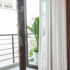 Отель TRIIP Orion 416 Apartment Вьетнам, Хошимин - отзывы, цены и фото номеров - забронировать отель TRIIP Orion 416 Apartment онлайн балкон