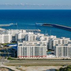 Апарт-отель Имеретинский —Прибрежный квартал Сочи пляж фото 2