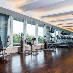 Отель Grand Mercure Oriental Ginza Шэньчжэнь фитнесс-зал фото 4