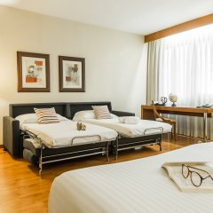 Отель Aparthotel Mariano Cubi Barcelona Испания, Барселона - 4 отзыва об отеле, цены и фото номеров - забронировать отель Aparthotel Mariano Cubi Barcelona онлайн комната для гостей фото 3
