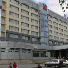 Отель Юбилейная Ярославль вид на фасад
