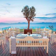 Отель Sheraton Rhodes Resort Греция, Родос - 1 отзыв об отеле, цены и фото номеров - забронировать отель Sheraton Rhodes Resort онлайн питание фото 2