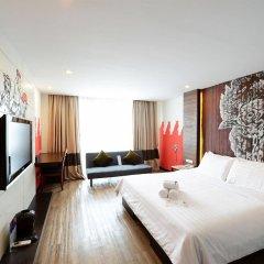 Отель Vacio Suite Бангкок комната для гостей фото 2