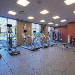Отель Hampton Inn & Suites Columbus/University Area Колумбус фитнесс-зал