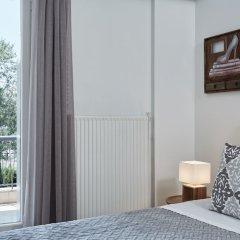 Отель Chic One Bd Apartment with Hilton View Греция, Афины - отзывы, цены и фото номеров - забронировать отель Chic One Bd Apartment with Hilton View онлайн комната для гостей фото 4