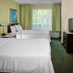 Отель Springhill Suites Columbus Airport Gahanna США, Гаханна - отзывы, цены и фото номеров - забронировать отель Springhill Suites Columbus Airport Gahanna онлайн комната для гостей фото 3