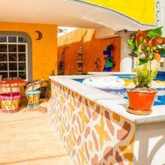 Отель Agavero Hostel Мексика, Канкун - отзывы, цены и фото номеров - забронировать отель Agavero Hostel онлайн бассейн