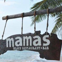 Отель Mamas Coral Beach Hotel & Restaurant Шри-Ланка, Хиккадува - отзывы, цены и фото номеров - забронировать отель Mamas Coral Beach Hotel & Restaurant онлайн пляж фото 2