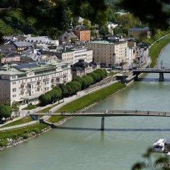 Отель Sacher Salzburg Зальцбург приотельная территория фото 2