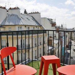 Отель Josephine By Happyculture Париж балкон