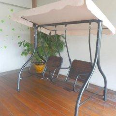 Апартаменты Burapha Bangsaen Garden Apartment бассейн