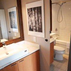 Отель Vancouver Extended Stay Канада, Ванкувер - отзывы, цены и фото номеров - забронировать отель Vancouver Extended Stay онлайн ванная фото 2