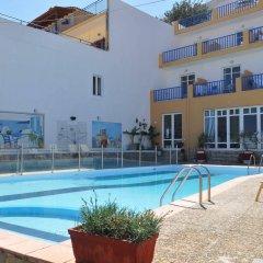 Отель Sofia Mythos Beach Aparthotel Греция, Милопотамос - 1 отзыв об отеле, цены и фото номеров - забронировать отель Sofia Mythos Beach Aparthotel онлайн бассейн