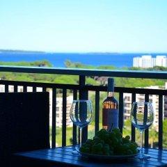 Отель Cannes Marina Golf Франция, Мандельё-ла-Напуль - отзывы, цены и фото номеров - забронировать отель Cannes Marina Golf онлайн балкон