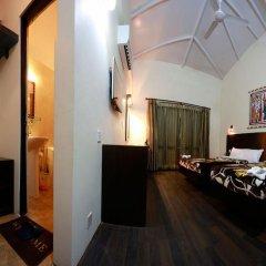 Отель Chitwan Adventure Resort Непал, Саураха - отзывы, цены и фото номеров - забронировать отель Chitwan Adventure Resort онлайн комната для гостей фото 4