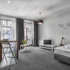 Отель Aurora Residence Польша, Лодзь - отзывы, цены и фото номеров - забронировать отель Aurora Residence онлайн комната для гостей фото 4
