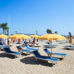 Hotel Gaia Римини пляж фото 2
