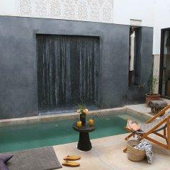 Отель Riad Dar Massaï Марокко, Марракеш - отзывы, цены и фото номеров - забронировать отель Riad Dar Massaï онлайн бассейн фото 2
