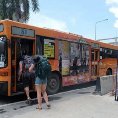 Отель Smile Buri House Бангкок городской автобус