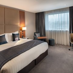 Отель Crowne Plaza London Heathrow T4 Великобритания, Лондон - отзывы, цены и фото номеров - забронировать отель Crowne Plaza London Heathrow T4 онлайн комната для гостей фото 5