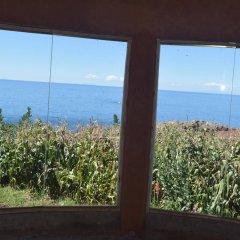 Отель Titicaca Lodge пляж