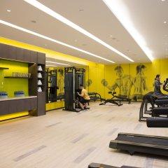 Отель The Mulian Urban Resort Hotels Nansha фитнесс-зал