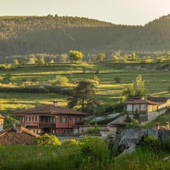 Отель Chuchura Family Hotel Болгария, Копривштица - отзывы, цены и фото номеров - забронировать отель Chuchura Family Hotel онлайн приотельная территория