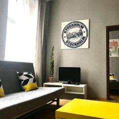 Отель Apartament Stockholm Познань комната для гостей фото 3