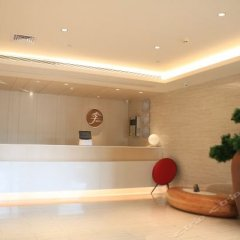 Отель JI Hotel Xiamen Airport Chenggong Avenue Китай, Сямынь - отзывы, цены и фото номеров - забронировать отель JI Hotel Xiamen Airport Chenggong Avenue онлайн интерьер отеля фото 2