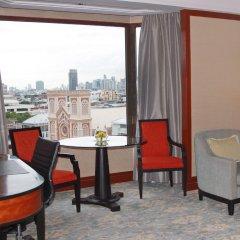 Отель Shangri-la Bangkok балкон