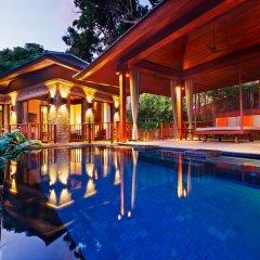 Отель Paresa Resort Phuket 5* Стандартный номер с различными типами кроватей фото 6