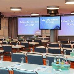 Отель Radisson Blu Hotel, Berlin Германия, Берлин - - забронировать отель Radisson Blu Hotel, Berlin, цены и фото номеров помещение для мероприятий