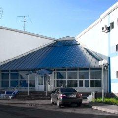 Гостиница Вояж Парк (гостиница Велотрек) парковка
