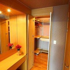 Отель Brown Suites Seoul Южная Корея, Сеул - 1 отзыв об отеле, цены и фото номеров - забронировать отель Brown Suites Seoul онлайн удобства в номере фото 2
